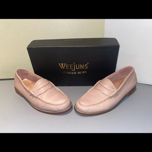 Weejuns G.H. Bass & Co. Whitney Blush Pink Penny Loafers, Size 7.5